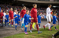 Washington, DC - March 7, 2017: France defeated the USWNT 3-0 during the SheBelieves Cup.Washington, DC - March 7, 2017: France defeated the USWNT 3-0 during the SheBelieves Cup.