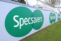 Specsavers signage during Essex CCC vs Durham MCCU, English MCC University Match Cricket at The Cloudfm County Ground on 2nd April 2017