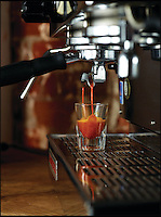 BNPS.co.uk (01202 558833)<br /> Pic: RedEspresso/BNPS<br /> <br /> ***Please Use Full Byline***<br /> <br /> Red Espresso leaves.<br /> <br /> This tiny shot of dark liquid is set to send shudders through the lucrative drinks trade - because it's the world's first espresso made from tea.<br /> <br /> Although it looks like a regular shot of coffee the revolutionary brew is actually made from finely ground Rooibos, a plant that only grows in a tiny corner of South Africa.<br /> <br /> It is made by forcing water through Rooibos grounds at high pressure creating a drink that looks like an espresso but without the side effects of coffee.<br /> <br /> The wonder drink, called Red Espresso in a nod to the distinctive colour the Rooibos gives it, is caffeine-free and is said to have five times the antioxidants of green tea.<br /> <br /> Red Espresso costs &pound;4.49 for a 250g pouch and can be bought online from Cream Supplies.