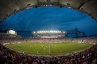 Over 18,500 fans watch the game. The United States (USA) women defeated China PR (CHN) 4-1 during an international friendly at PPL Park in Chester, PA, on May 27, 2012.