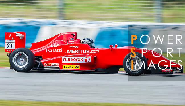 Jake Parsons of Australia and Meritus.GP drives during Formula Masters China Series as part of the 2015 Pan Delta Super Racing Festival at Zhuhai International Circuit on September 18, 2015 in Zhuhai, China.  Photo by Moses Ng/ Power Sport Images