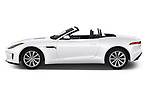 Car Driver side profile view of a 2019 Jaguar F-Type - 2 Door Convertible Side View