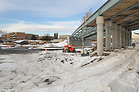 Construction Progress Railroad Station Fairfield Metro Center - One of 33 images taken on 18th site visit of once per month chronological documentation.