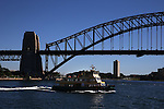 Sydney Harbour and Opera House in morning light. Sydney, Australia. Thursday 4th July 2013.Photo: (Steve Christo)