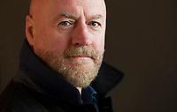 Craig Robertson. Giornalista e scrittore scozzese, è un apprezzato autore di thriller e di crime story. Sangue bianco è il suo primo libro tradotto in italiano. Suzzara, 4 febbraio 2018, Noirfestival. © Leonardo Cendamo