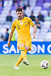 Milos Degenek of Australia in action during the AFC Asian Cup UAE 2019 Group B match between Australia (AUS) and Jordan (JOR) at Hazza Bin Zayed Stadium on 06 January 2019 in Al Ain, United Arab Emirates. Photo by Marcio Rodrigo Machado / Power Sport Images