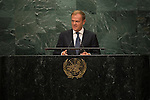 Address by H.E. Mr. Donald Tusk<br /> President, European Union<br /> <br /> <br /> General Assembly Seventy-first session 10th plenary meeting<br /> General Debate