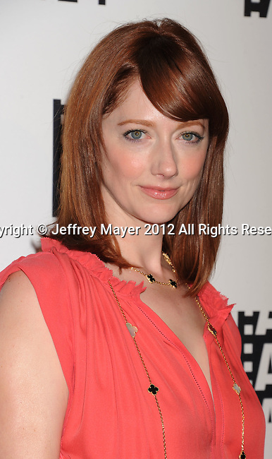 BEVERLY HILLS, CA - FEBRUARY 18: Judy Greer arrives at the 62nd Annual ACE Eddie Awards at the Beverly Hilton Hotel on February 18, 2012 in Beverly Hills, California.