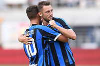 Lugano 14-07-2019 <br /> Football 2019/2020 pre season Friendly match <br /> Lugano - Inter <br /> Photo Matteo Gribaudi / Image Sport / Insidefoto Stefan de Vrij-Sebastiano Esposito