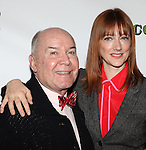 Director Jack O'Brien and Judy Greer attending the Meet & Greet the cast of the new Broadway Play 'Dead Accounts' on October 12, 2012 in New York City.
