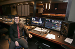 That's My Job: Michael Sportiello, technical director at DePaul's School of Music, inside one of the high tech production facilities at the Holtschneider Performance Center. (DePaul University/Jamie Moncrief)