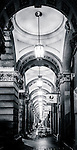 Archway of the former GPO building at Martin Place in Sydney, NSW, Australia