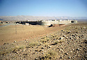 Irak 2000.Un fort construit par l'arm&eacute;e irakienne a Koysanjak   .<br />