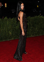 "NEW YORK CITY, NY, USA - MAY 05: Adriana Lima at the ""Charles James: Beyond Fashion"" Costume Institute Gala held at the Metropolitan Museum of Art on May 5, 2014 in New York City, New York, United States. (Photo by Xavier Collin/Celebrity Monitor)"