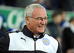 A happy Leicester City Manager Claudio Ranieri<br /> - Barclays Premier League - Everton vs Leicester City - Goodison Park - Liverpool - England - 19th December 2015 - Pic Robin Parker/Sportimage