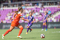 Orlando, FL - Saturday June 24, 2017: Andressinha during a regular season National Women's Soccer League (NWSL) match between the Orlando Pride and the Houston Dash at Orlando City Stadium.