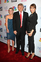 May 21, 2012 Allison Sweeney, Donald Trump and Melania Trump at the Celebrity Apprentice Finale at the American Museum of Natural History in New York City. © RW/MediaPunch Inc.