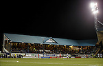 Hopefully with all the money from the large travelling support we might get new floodlight bulbs in the black holes where others have died over the years