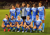 Boyds, MD - Friday Sept. 30, 2016: Chicago Red Stars starting eleven prior to a National Women's Soccer League (NWSL) semi-finals match between the Washington Spirit and the Chicago Red Stars at Maureen Hendricks Field, Maryland SoccerPlex. The Washington Spirit won 2-1 in overtime.