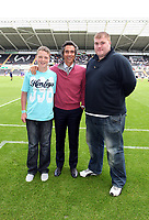 Pictured:<br /> Re: Friendly Swansea City Football Club v Kilmarnock at the Liberty Stadium, Swansea, south Wales. Saturday 01 August 2009<br /> Picture by D Legakis Photography / Athena Picture Agency, 24 Belgrave Court, Swansea, SA1 4PY, 07815441513
