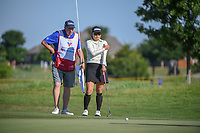 Jimin Kang (USA) looks over her putt on 12 during round 2 of  the Volunteers of America LPGA Texas Classic, at the Old American Golf Club in The Colony, Texas, USA. 5/6/2018.<br /> Picture: Golffile | Ken Murray<br /> <br /> <br /> All photo usage must carry mandatory copyright credit (&copy; Golffile | Ken Murray)