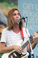 Tame Impala performing at Melbourne Zoo, 19 February 2009