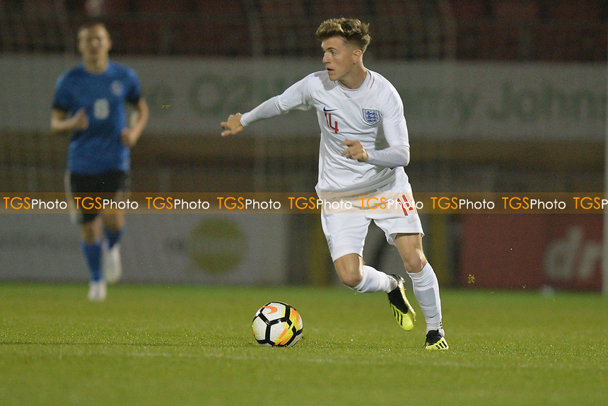 James Hardy Of England C and AFC Fylde during England C vs Estonia Under-23, International Friendly Match Football at The Breyer Group Stadium on 10th October 2018