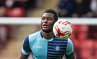 Aaron Pierre of Wycombe Wanderers during the Sky Bet League 2 match between Leyton Orient and Wycombe Wanderers at the Matchroom Stadium, London, England on 1 April 2017. Photo by Andy Rowland.