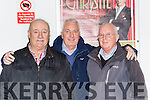 Tom Coffey, Brendan Fitzgerald and Peter Coffey at the Tony Christie concert in the INEC on Friday night