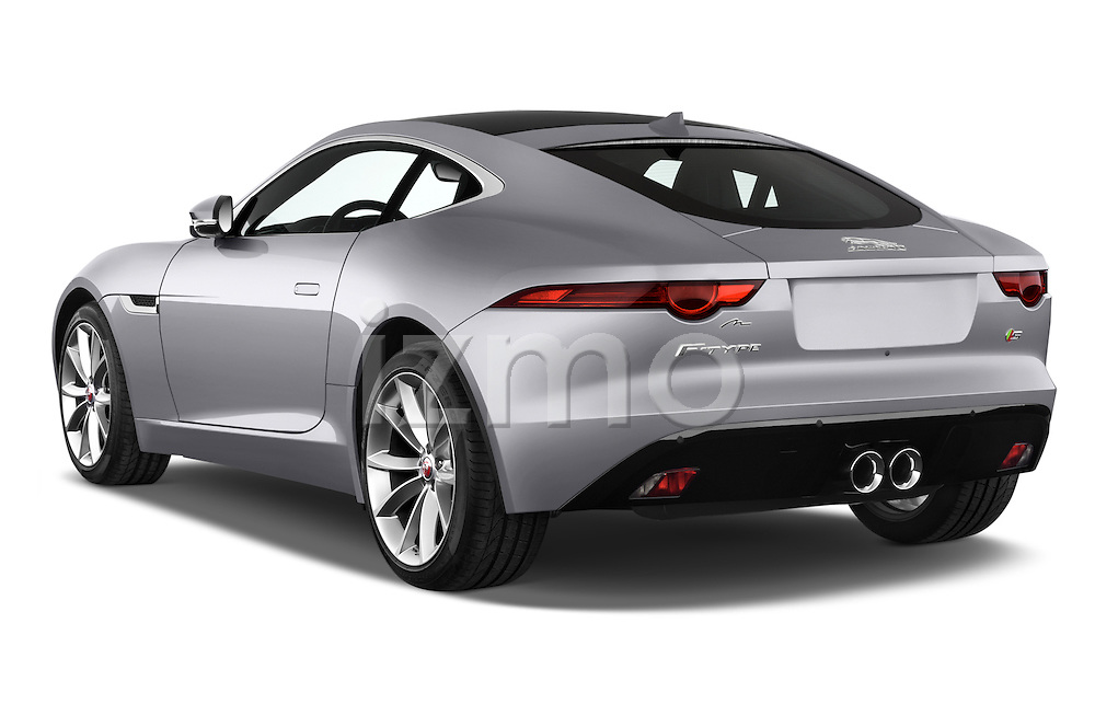 Car Pictures Of Rear Three Quarter View Of A 2015 Jaguar F Type S 3