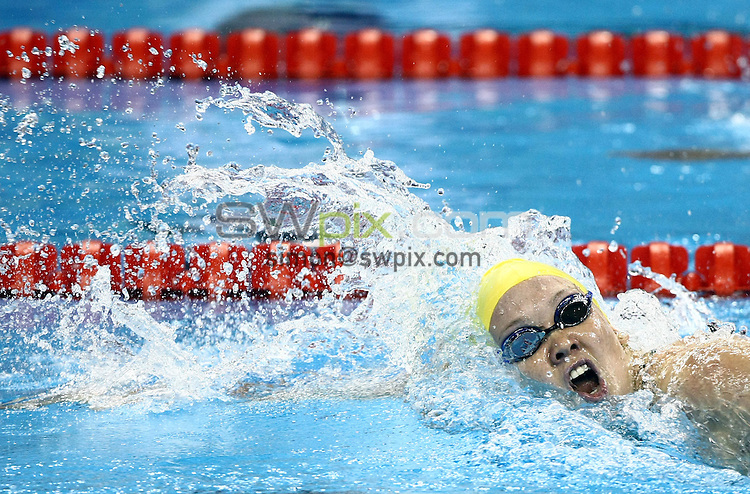 PICTURE BY VAUGHN RIDLEY/SWPIX.COM...Swimming - 14th FINA World Championships 2011- Oriental Sports Centre, Shanghai, China - 26/07/11...Australia's Kylie Palmer competes in the Women's 200m Freestyle Heats.