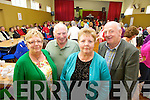 Attending the Positive Ageing Day at Knocknagoshel Community Centre on Friday were: Rose Reilly, Terry Reilly, Mary Hickey and Jimmy Hickey.