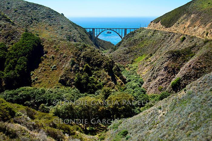 Bixby Bridge, Scenic Highway 1, Central Coast of California