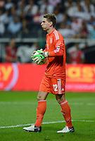 FUSSBALL Nationalmannschaft Freundschaftsspiel:  Deutschland - Argentinien             15.08.2012 Torwart Ron Robert Zieler (Deutschland) mit BAll