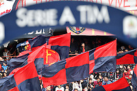 Genoa fans cheer on prior to the Serie A 2018/2019 football match between Genoa CFC and Juventus FC at stadio Luigi Ferraris, Genova, March 17, 2019 <br /> Photo Andrea Staccioli / Insidefoto