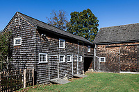 The Weir barn, Weir Farm National Historic Site and home of American Impressionism.