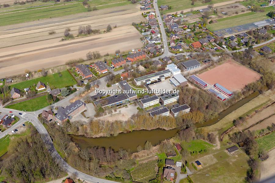 Stadtteilschule Kirchwerder: EUROPA, DEUTSCHLAND, HAMBURG, BERGEDORF (EUROPE, GERMANY), 21.04.2013:Stadtteilschule Kirchwerder