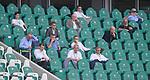 27.06.2020, Fussball: nph00001 1. Bundesliga 2019/2020, 34. Spieltag, VfL Wolfsburg - FC Bayern Muenchen, in der Volkswagen-Arena Wolfsburg. auf der TribŸne sitzen die Verantwortlichen von Bayern und Wolfsburg<br /><br />Foto: Bernd Feil/M.i.S./ /Pool/nordphoto<br /><br />Nur fŸr journalistische Zwecke! Only for editorial use! <br /><br />GemŠ§ den Vorgaben der DFL Deutsche Fussball: nph00001 Liga ist es untersagt, in dem Stadion und/oder vom Spiel angefertigte Fotoaufnahmen in Form von Sequenzbildern und/oder videoŠhnlichen Fotostrecken zu verwerten bzw. verwerten zu lassen. DFL regulations prohibit any use of photographs as image sequences and/or quasi-video.    <br /><br />National and international NewsAgencies OUT.