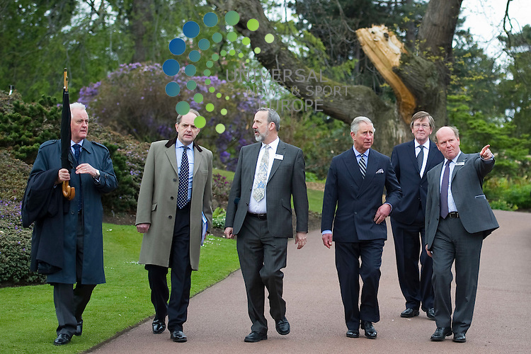 HRH Prince of Wales vistits The Royal Botanic Gradens where he enjoys mixing with other garden visitors, Edinburgh, Scotland, 9th May, 2012..Picture:Scott Taylor Universal News And Sport (Europe) .All pictures must be credited to www.universalnewsandsport.com. (Office)0844 884 51 22.