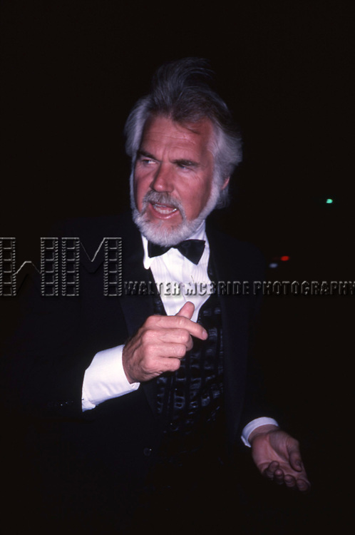Kenny Rogers  on September 1, 1985 in Beverly Hills, California.