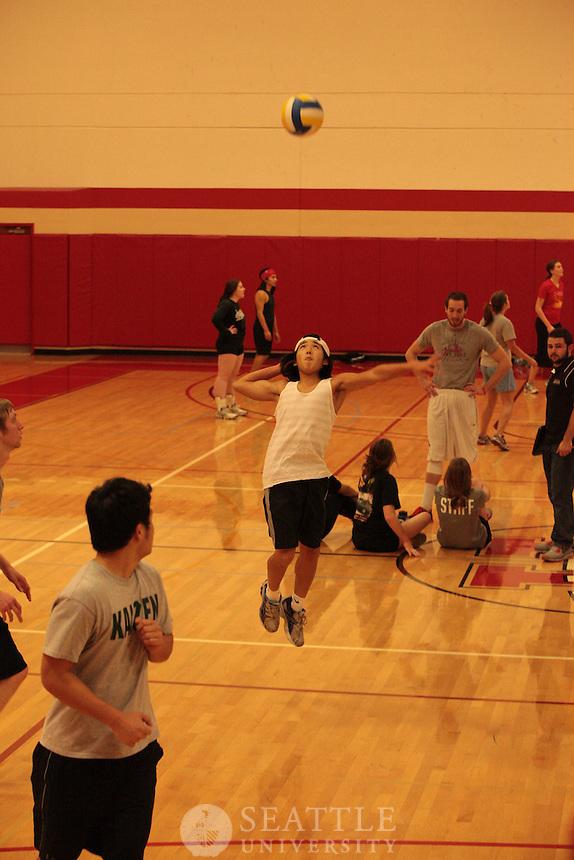 2012 Indoor Intramural Volleyball
