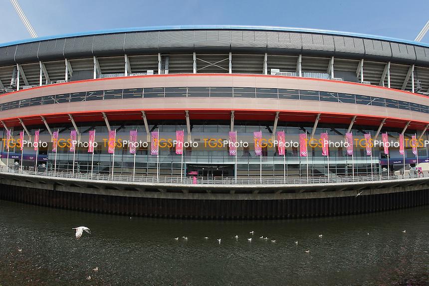 General view of the Millenium Stadium ahead of Brazil vs Egypt - Mens Olympic Football Tournament London 2012 Group E at the Millenium Stadium, Cardiff, Wales - 26/07/12 - MANDATORY CREDIT: Gavin Ellis/SHEKICKS/TGSPHOTO - Self billing applies where appropriate - 0845 094 6026 - contact@tgsphoto.co.uk - NO UNPAID USE.