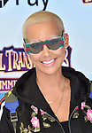 WESTWOOD, CA - JUNE 30: Amber Rose attends the Columbia Pictures and Sony Pictures Animation's world premiere of 'Hotel Transylvania 3: Summer Vacation' at Regency Village Theatre on June 30, 2018 in Westwood, California.