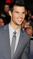 LOS ANGELES, CA - NOVEMBER 12: Taylor Lautner  arrives at 'The Twilight Saga: Breaking Dawn - Part 2' Los Angeles premiere at Nokia Theatre L.A. Live on November 12, 2012 in Los Angeles,PAP1112JP306..PAP1112JP306.. /NortePhoto
