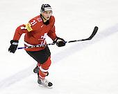 Mauro Jorg (Switzerland - 21) - Team Switzerland defeated Team Latvia 7-5 on Wednesday, December 30, 2009, at the Credit Union Centre in Saskatoon, Saskatchewan, during the 2010 World Juniors tournament.