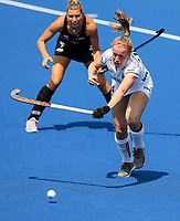 Anne-Sophie Vanden Borre during the Pro League Hockey match between the Blacksticks Women and Belgium, National Hockey Arena, Auckland, New Zealand, Sunday 2 February 2020. Photo: Simon Watts/www.bwmedia.co.nz