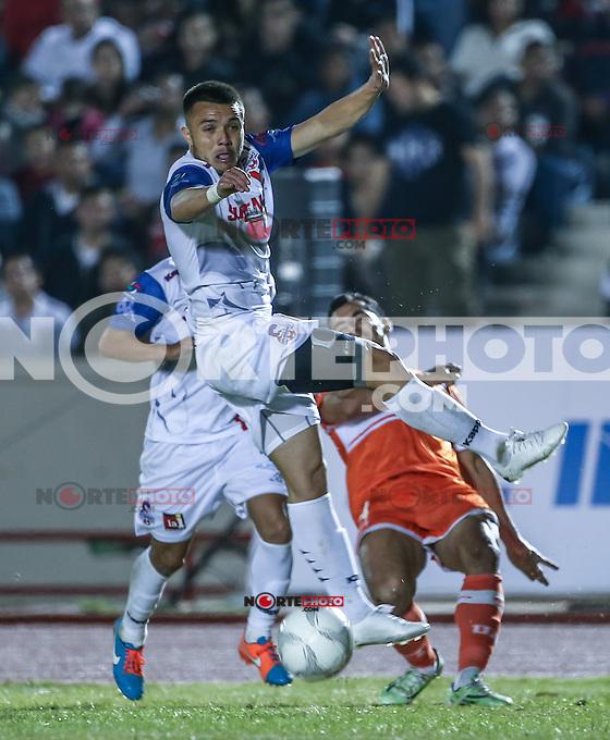 , durante el partido de futbol soccer entre CorrecaminosFC vs CimarronesFC . Jornada 3 del torneo Clausura de la Liga Ascenso MX . <br /> Estadio Heroes de Nacozari  a 22 de enero 2016.