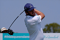 Damien Perrier (FRA) on the 3rd tee during round 3 of the Australian PGA Championship at  RACV Royal Pines Resort, Gold Coast, Queensland, Australia. 21/12/2019.<br /> Picture TJ Caffrey / Golffile.ie<br /> <br /> All photo usage must carry mandatory copyright credit (© Golffile | TJ Caffrey)