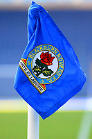 Detail View of a corner flag at Ewood Park, home of Blackburn Rovers FC<br /> <br /> Photographer Richard Martin-Roberts/CameraSport<br /> <br /> The EFL Sky Bet Championship - Blackburn Rovers v West Bromwich Albion - Tuesday 1st January 2019 - Ewood Park - Blackburn<br /> <br /> World Copyright &not;&copy; 2019 CameraSport. All rights reserved. 43 Linden Ave. Countesthorpe. Leicester. England. LE8 5PG - Tel: +44 (0) 116 277 4147 - admin@camerasport.com - www.camerasport.com