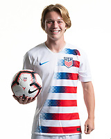 Rome, GA - Friday, June 21, 2019:  Para 7 USMNT headshot of Shea Hammond.